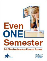 Even One Semester: Full-Time Enrollment and Student Success