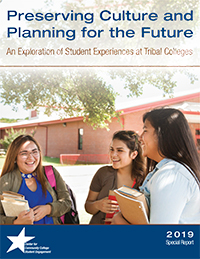 Report cover for Preserving Culture and Planning for the Future: An Exploration of Student 
