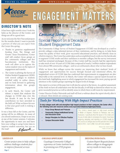 Engagement Matters Volume 12 Issue 1