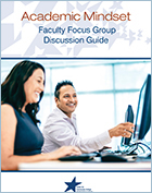 Click to download On Academic Mindset: Faculty Discussion Guide
